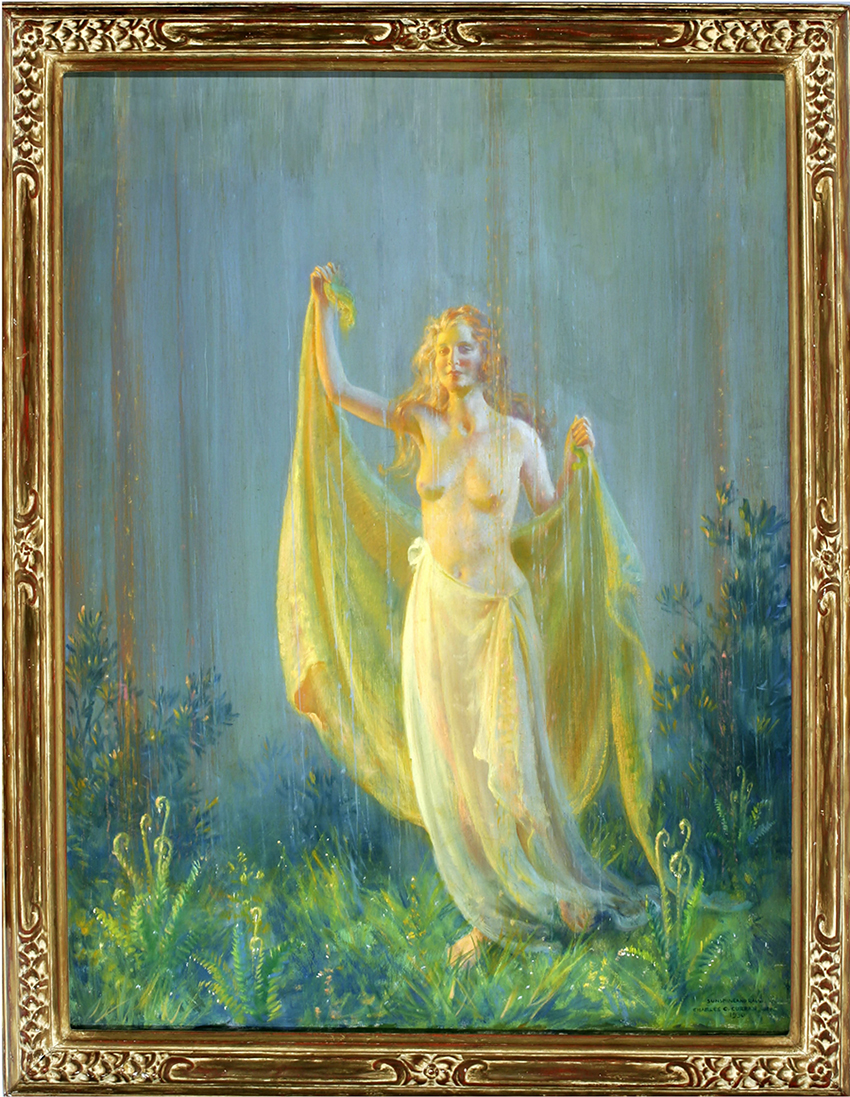 Charles Courtney Curran - Sunshine and Rain