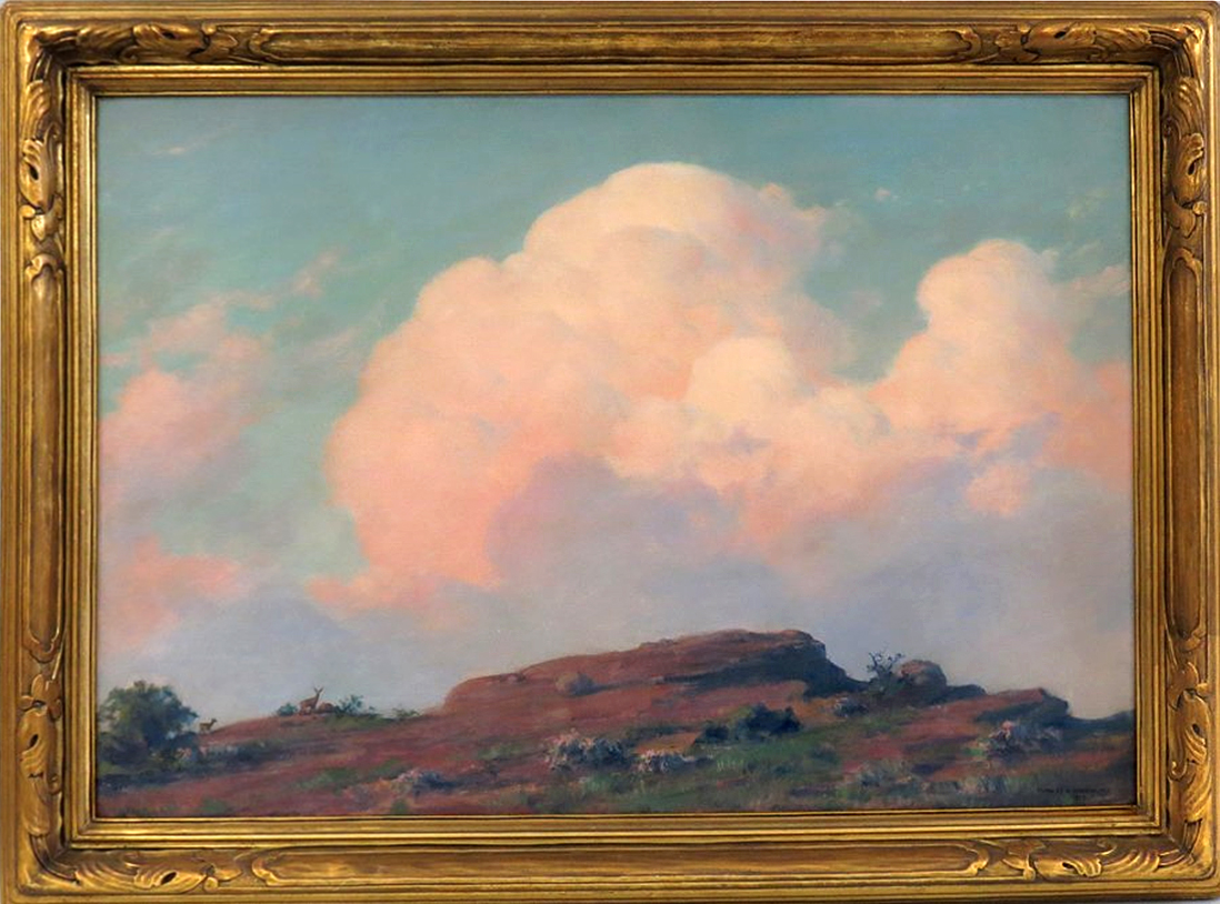 Charles Courtney Curran - Evening on the Summit