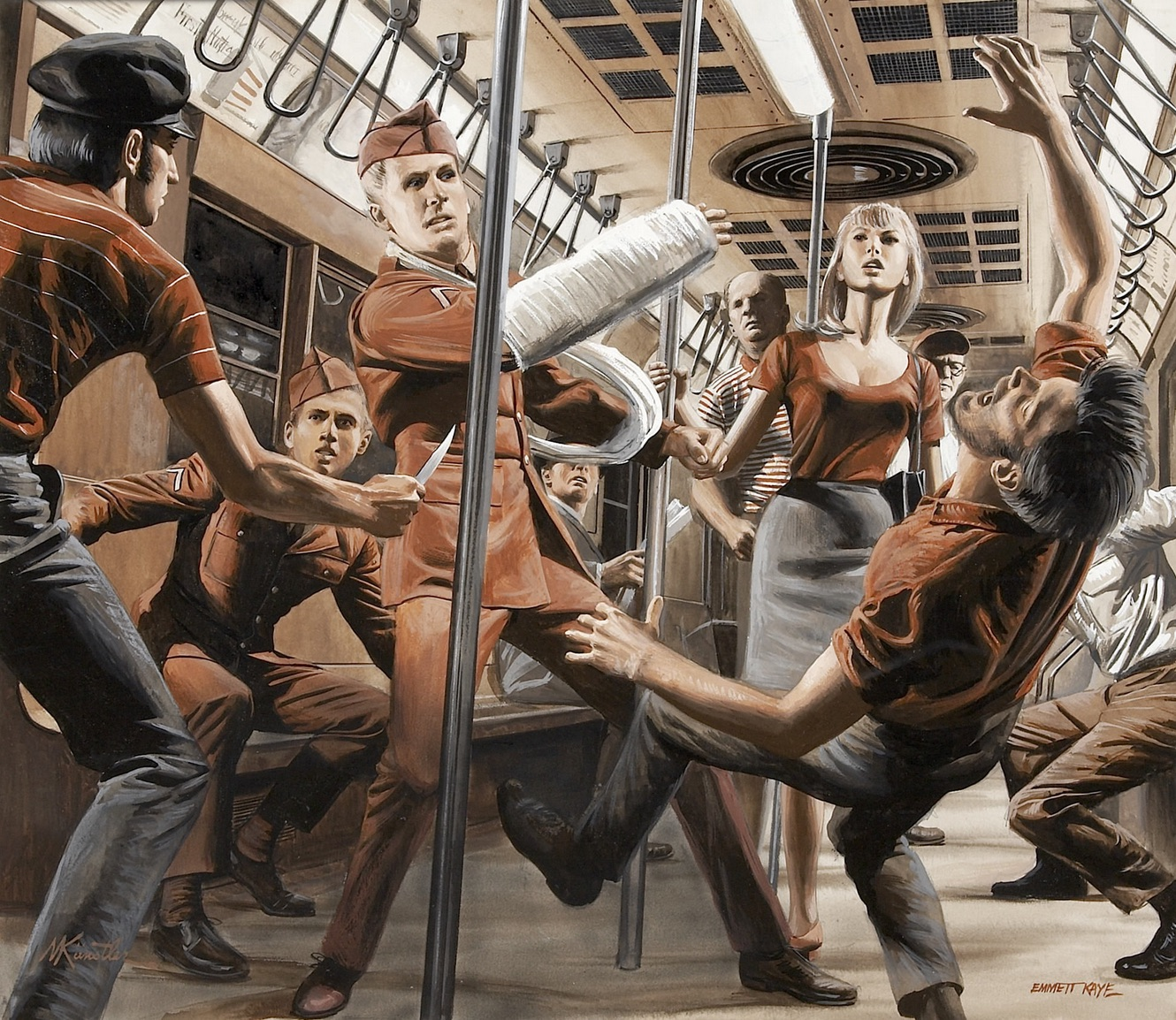 Mort Kunstler - Cast For the Part