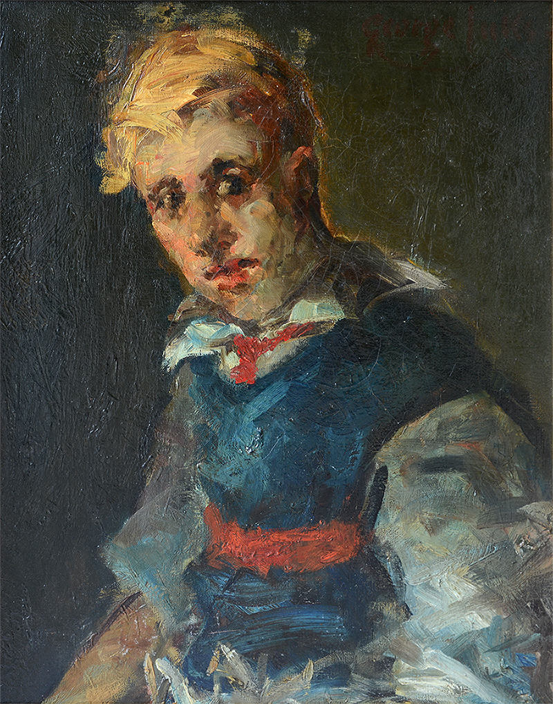 George Benjamin Luks - Portrait of a Boy