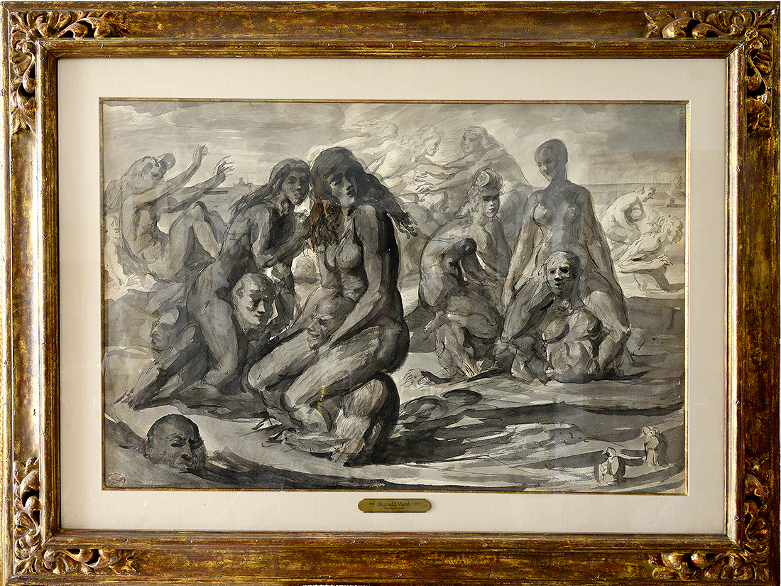 Reginald Marsh - Water Sports