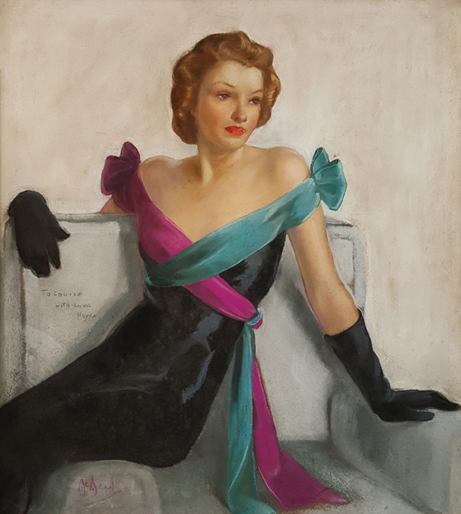 Neysa McMein - The Evening Gown