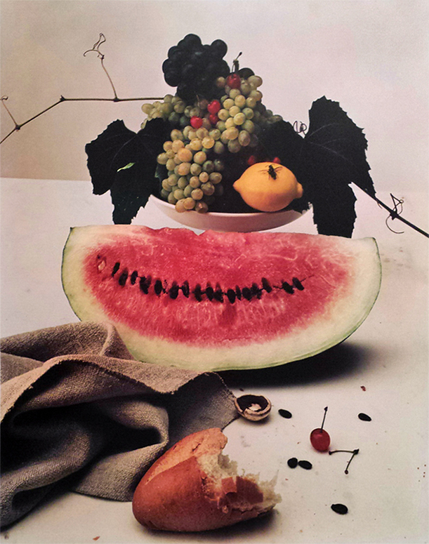 Irving Penn - Still life with Watermelon, NY