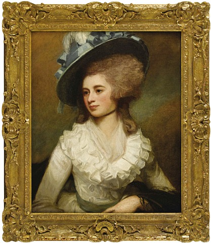 George Romney - Portrait of Lady Caroline Price