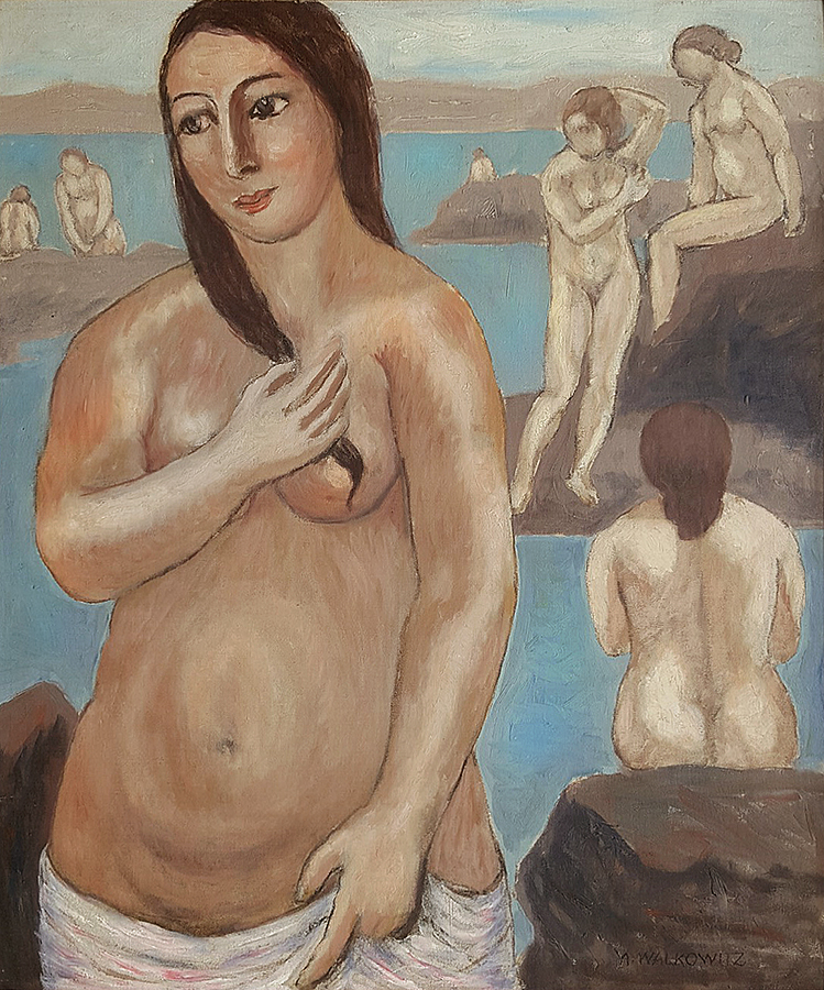 Abraham Walkowitz - The Bather