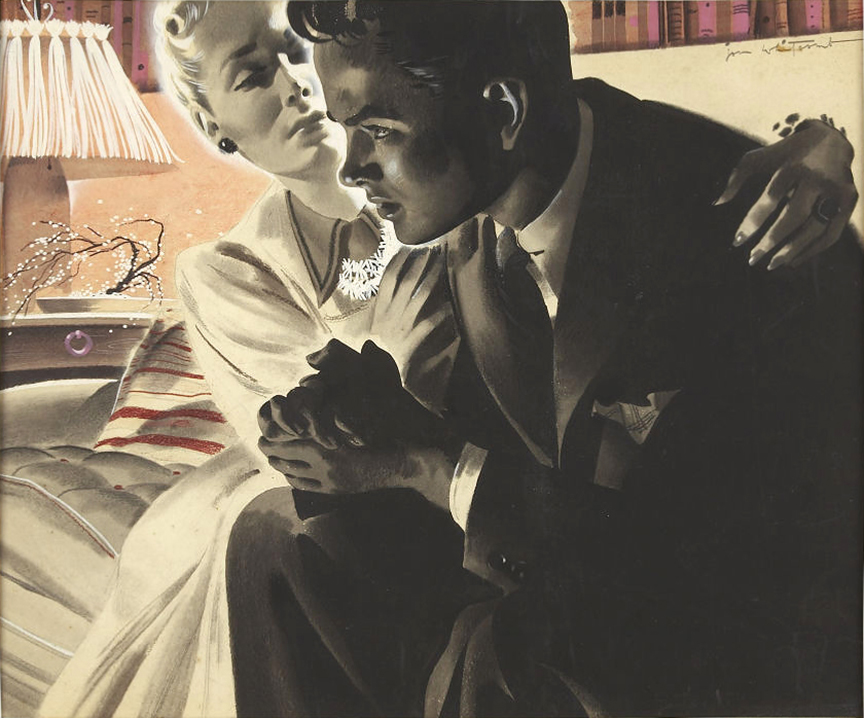 Jon Whitcomb - Magazine story illustration